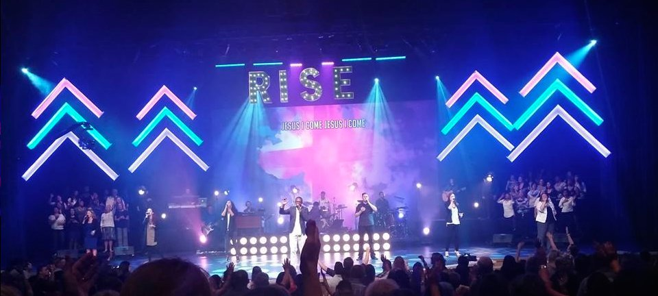 rise up church stage design ideas