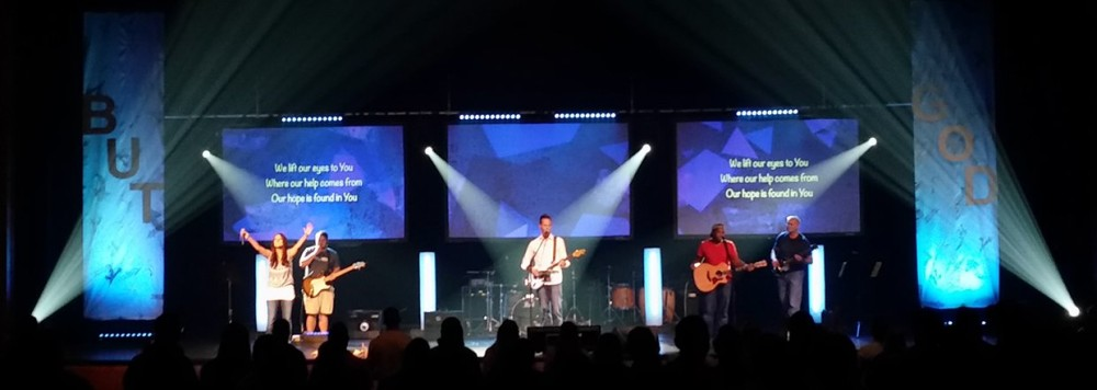 Stage Lighting Church Stage Design Ideas