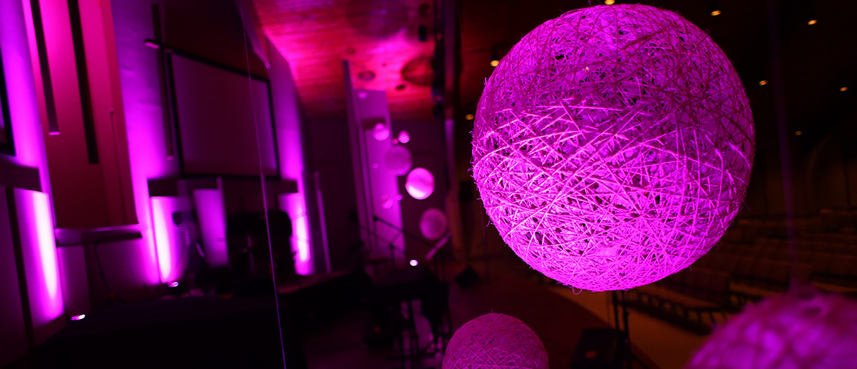 Diy Yarn Balls Church Stage Design Ideas