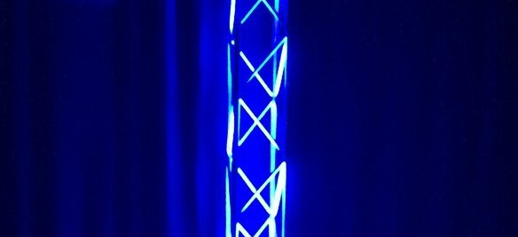 Pvc Pipe Trusses Church Stage Design Ideas