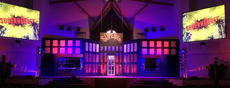 Super Scene Church Stage Design Ideas