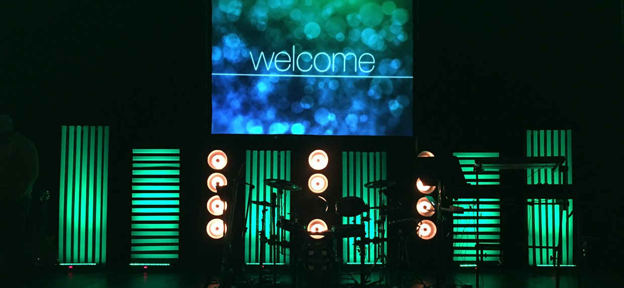 portable lines church stage design ideas