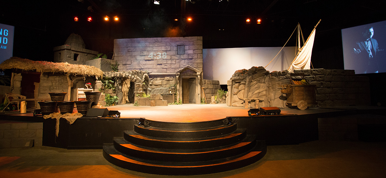 easter city church stage design ideas