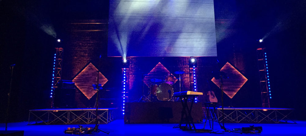 Glowing Woods Stage Design