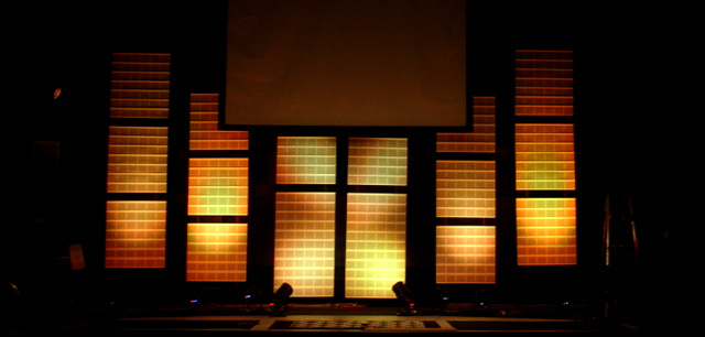 guarding gutters church stage design ideas