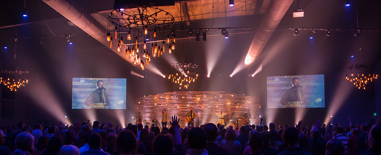 dropping jars church stage design ideas