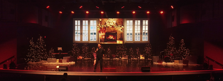 cozy church stage design ideas