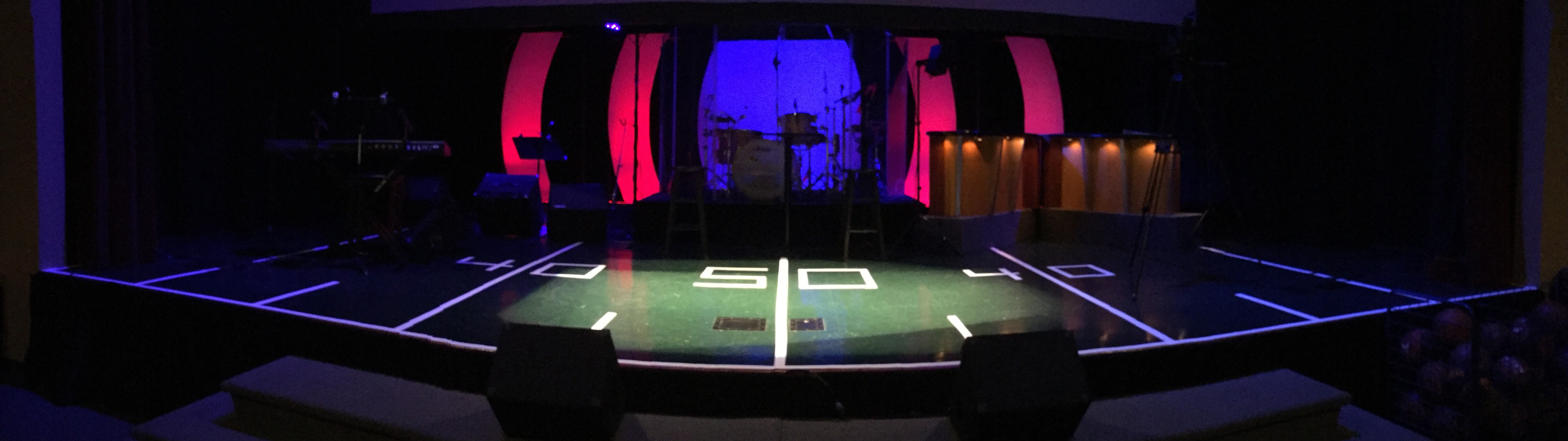 Sporty church stage design ideas for Capital home staging and design