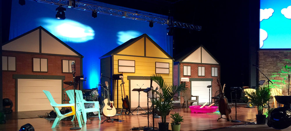 Wont You Be My Neighbor Stage Design