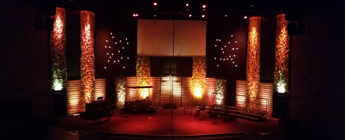 intersection church stage design ideas
