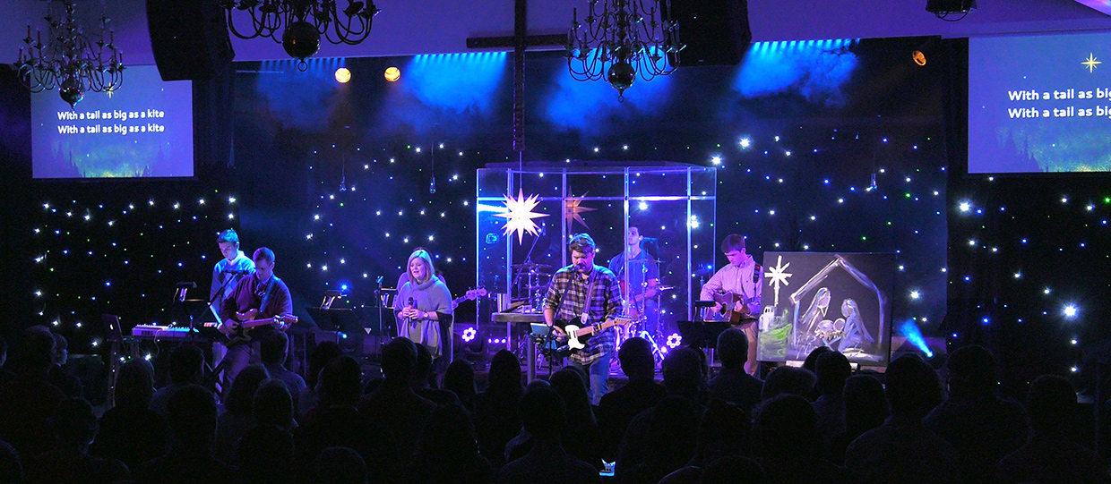 Sky Full Of Stars Church Stage Design Ideas