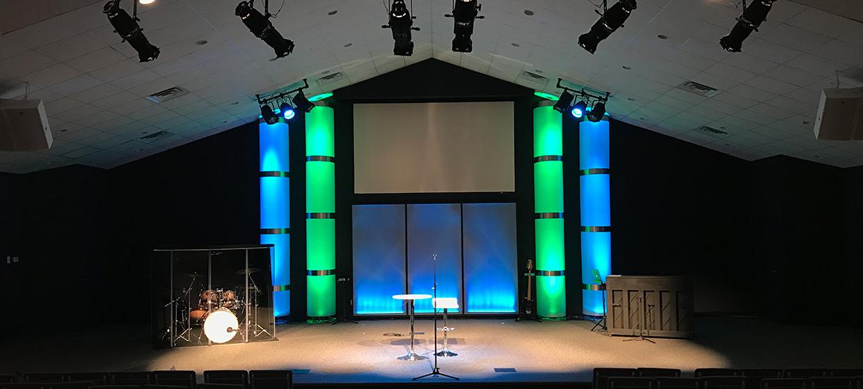 We Got Columns Church Stage Design Ideas