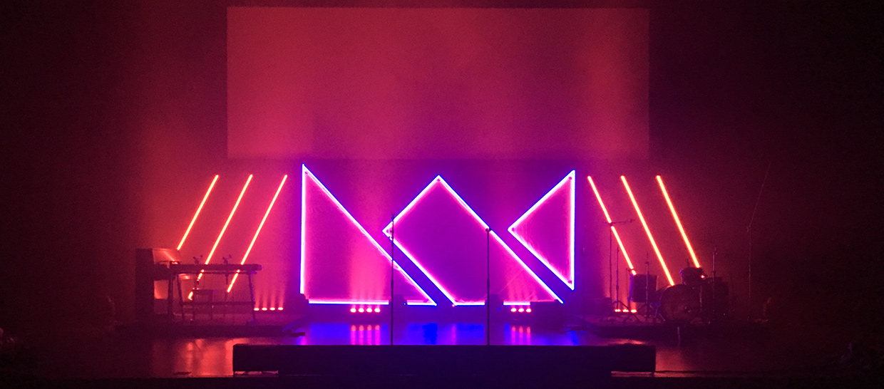Crowned In Led Church Stage Design Ideas