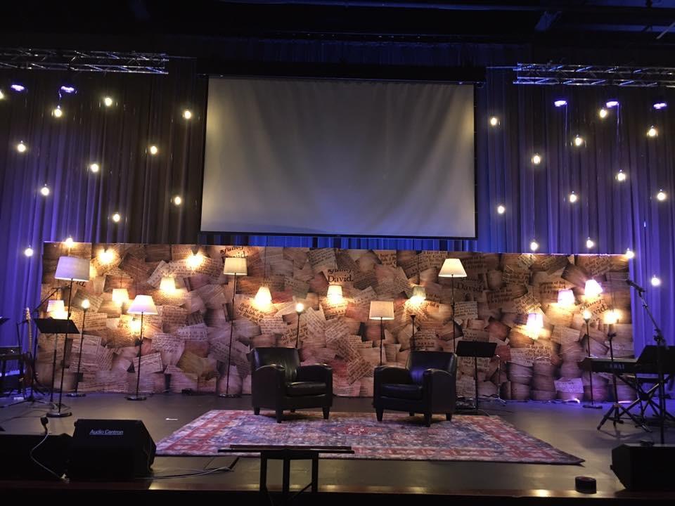 Psalm Prints Church Stage Design Ideas