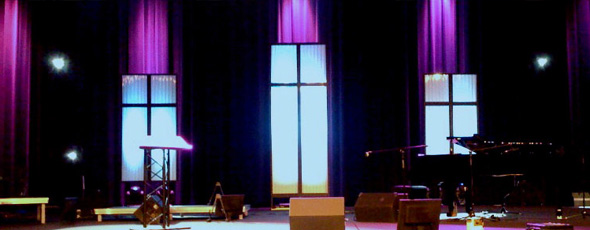 Easter Windows 98 Church Stage Design Ideas