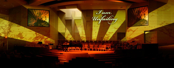 Architectural Projection Church Stage Design Ideas