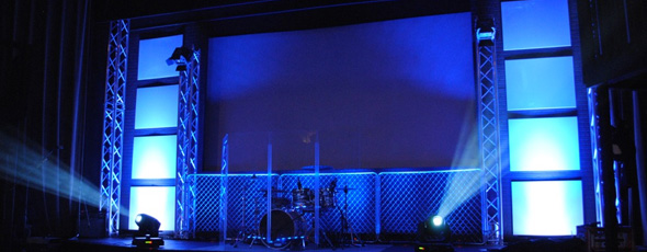 Chain Links Church Stage Design Ideas