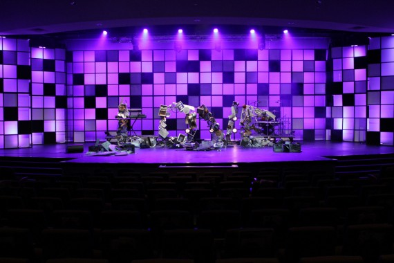 Throwback The Junkyard Church Stage Design Ideas