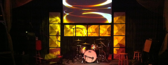 Hipster Ceiling Tiles Church Stage Design Ideas