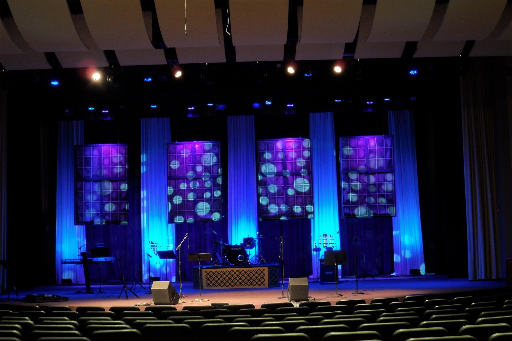 Four Square | Church Stage Design Ideas