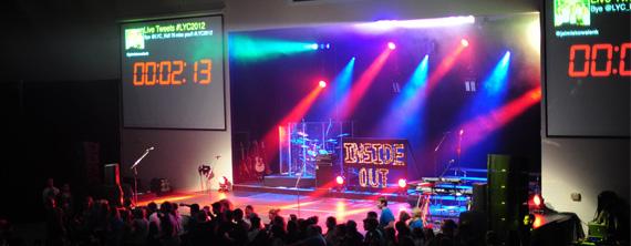 Dot Lights | Church Stage Design Ideas