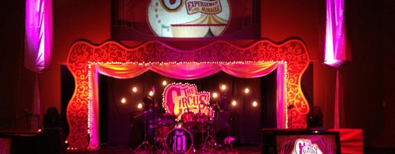 Circus Time Church Stage Design Ideas