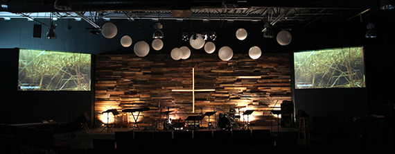 Midsummer Night S Porch Church Stage Design Ideas