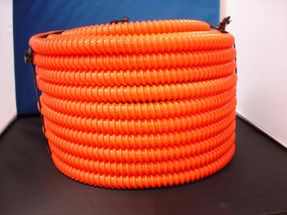 Orange-Corrugated-Splt-Tube