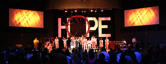 Thorns And Hope Church Stage Design Ideas