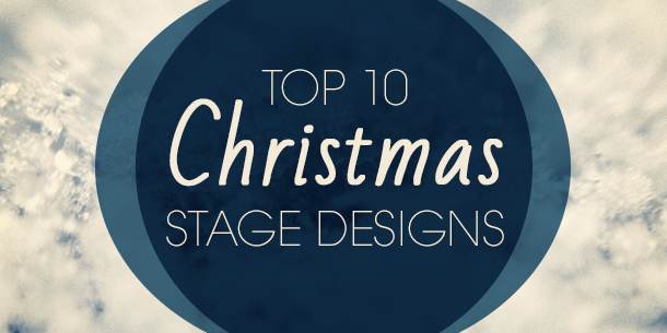 Top 10 Christmas Stage Designs Church Stage Design Ideas