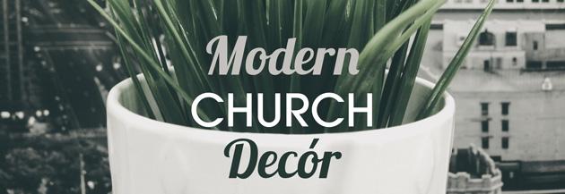 modern church decór church stage design ideas