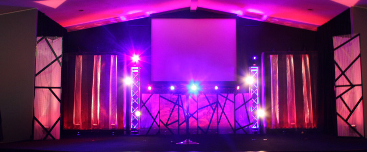 Meshed Church Stage Design Ideas