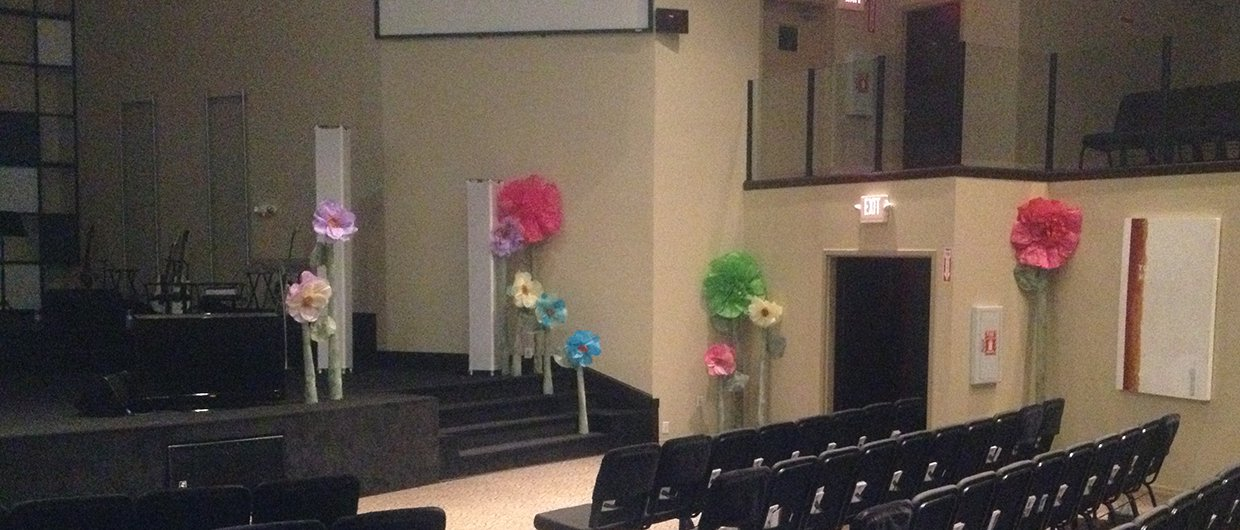 Mother S Flowers Church Stage Design Ideas