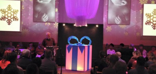 The Gift Of Glow Church Stage Design Ideas