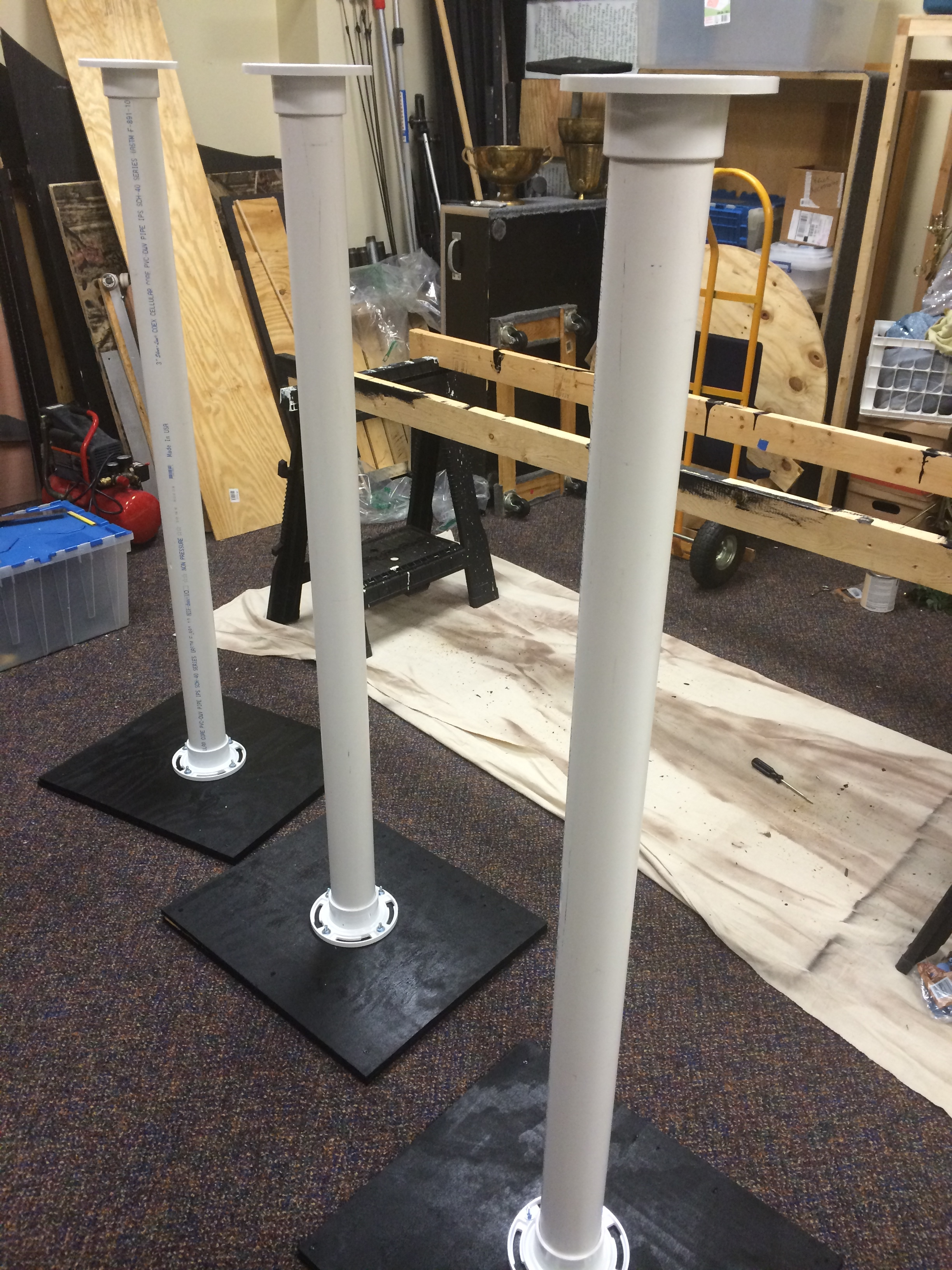 Lamppost 3 Church Stage Design Ideas