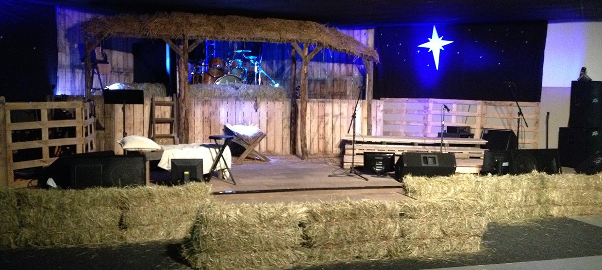 Stabled Church Stage Design Ideas
