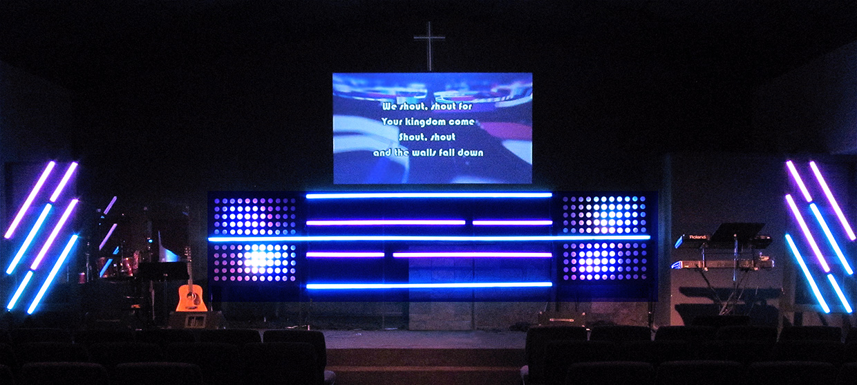 Notes And Lines Church Stage Design Ideas
