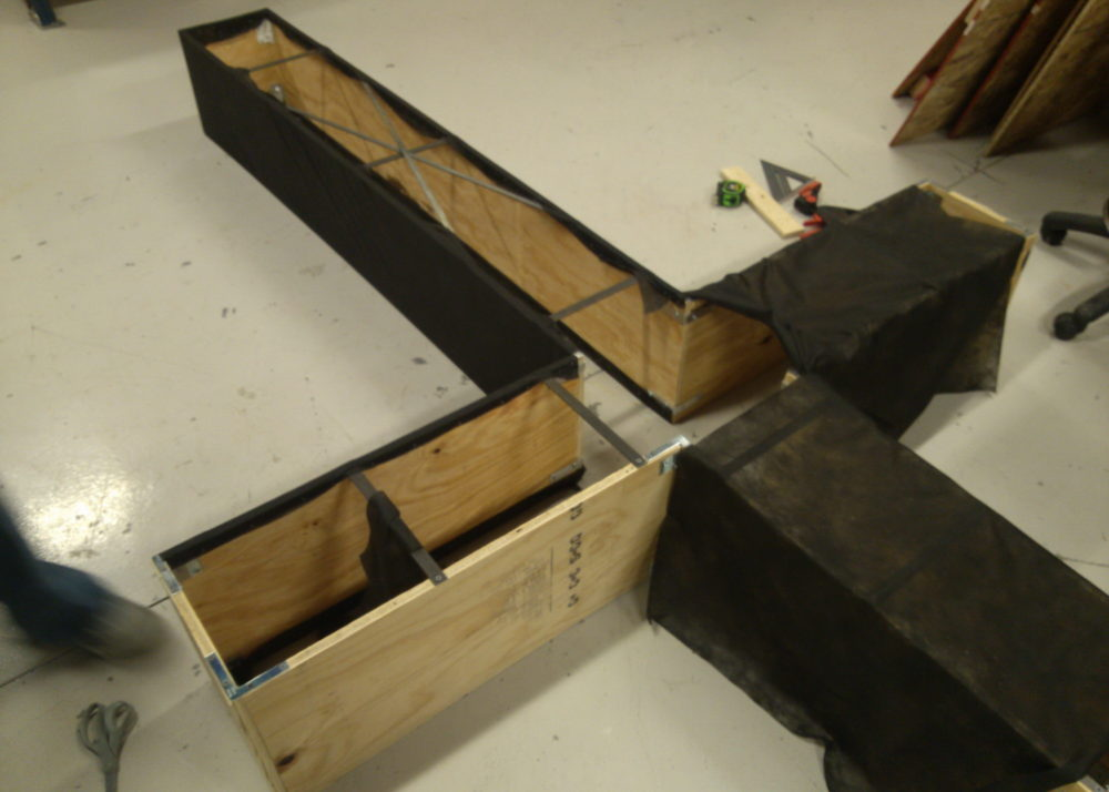 Building new stage 3