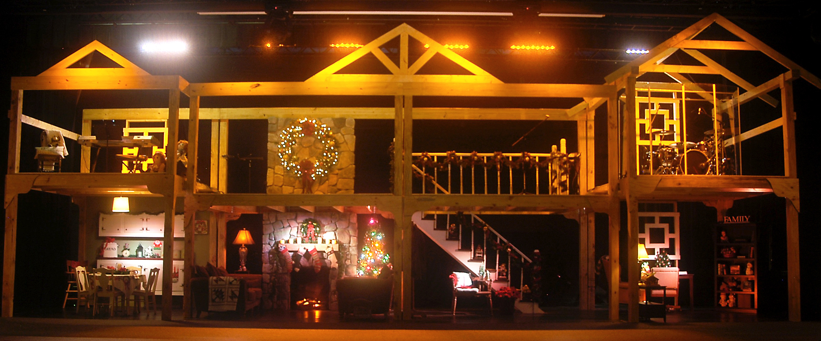 The Dollhouse Church Stage Design Ideas